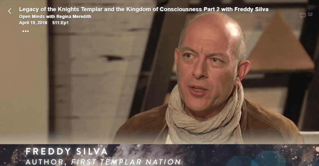 Legacy of the Knights Templar and the Kingdom of Consciousness Part 2 with Freddy Silva