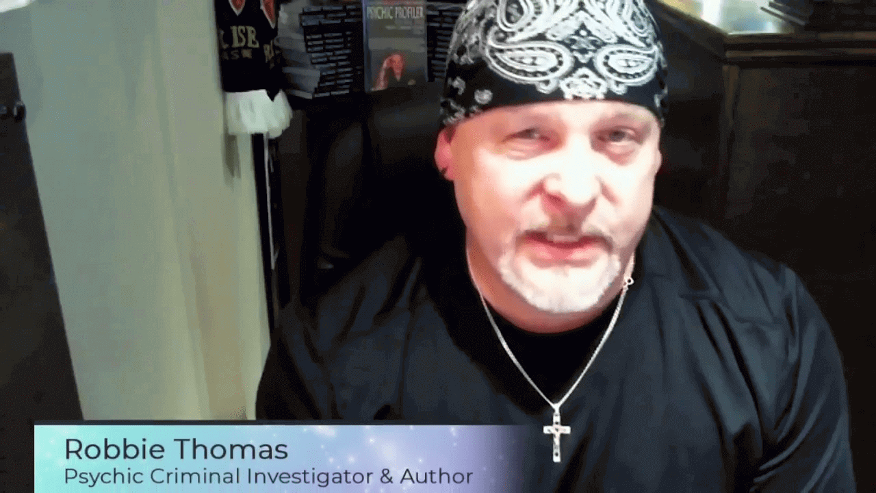 Psychic Crime Solving with Robbie Thomas, Author, Psychic Profiler,Regina Meredith