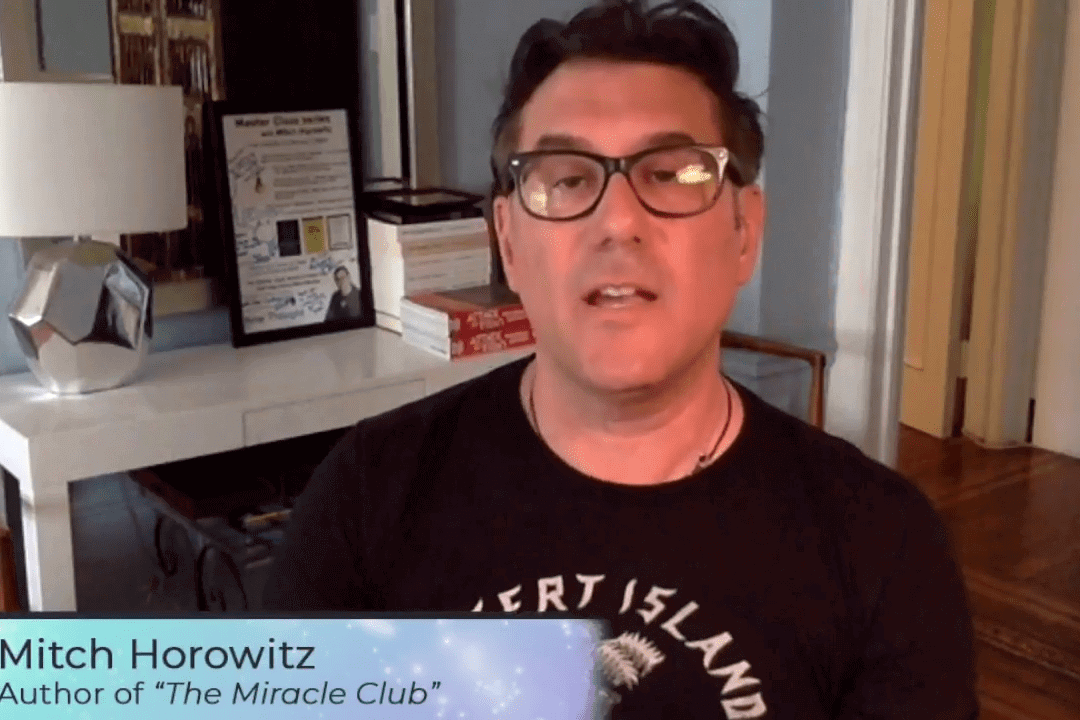 The Miracle Club, featuring Mitch Horowitz, Author