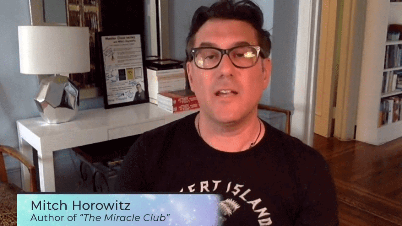 The Miracle Club, featuring Mitch Horowitz, Author,Regina Meredith, Manifesting