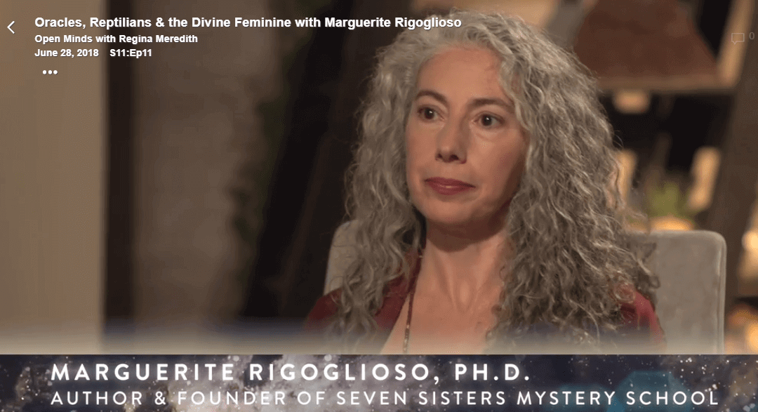 Oracles, Reptilians & the Divine Feminine with Marguerite Rigoglioso