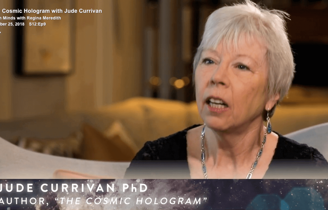 The Cosmic Hologram with Jude Currivan
