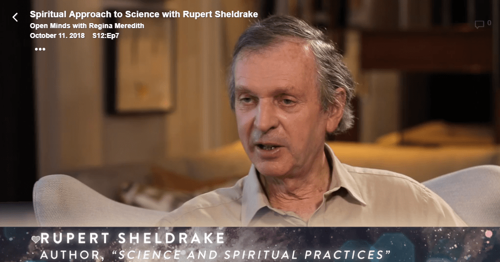 Spiritual Approach to Science with Rupert Sheldrake