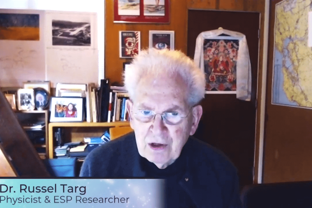 Psychic Spies with Dr. Russel Targ, Physicist & ESP Researcher