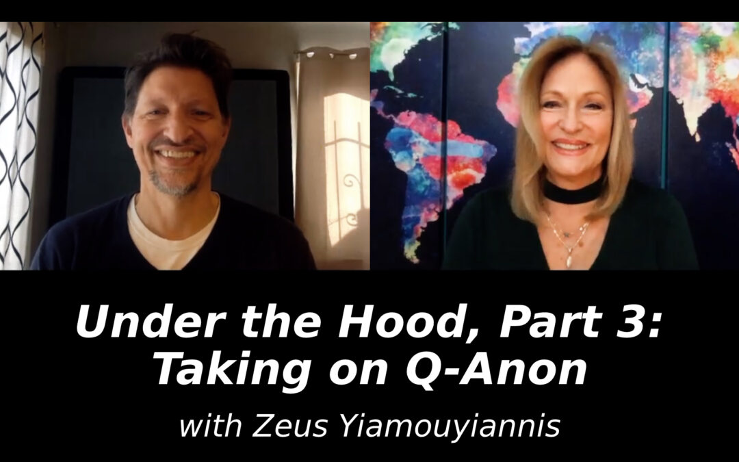 Under the Hood, Part 3: Taking on Q-Anon with Zeus Yiamouyiannis